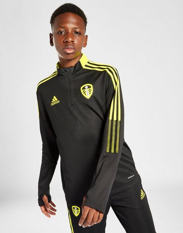 adidas Leeds United FC 2021 1/4 Zip Top Junior