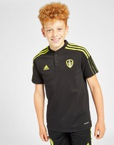 adidas Leeds United FC 2021 Training Polo Shirt Junior