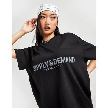 Supply & Demand Logo Boyfriend T-Shirt
