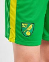 Joma Norwich City FC 2021/22 Home Shorts Junior