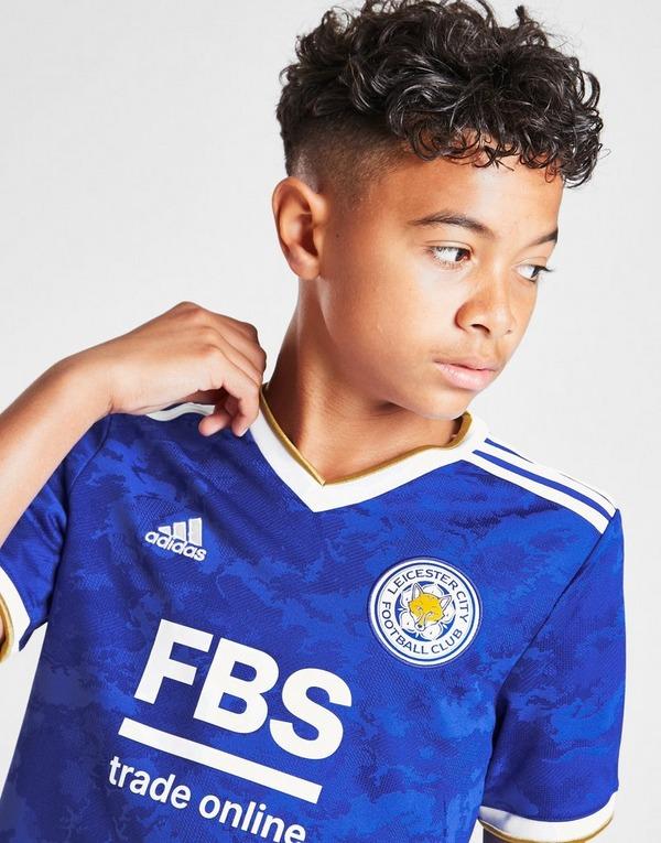 adidas Leicester City FC 2021/22 Home Shirt Junior