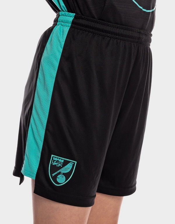 Joma Norwich City FC 2021/22 Away Shorts Junior