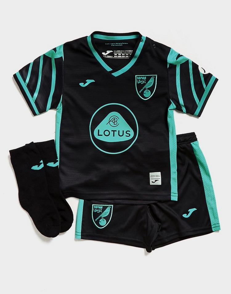 Joma conjunto Norwich City FC 2021/22 2.ª equipación para bebé