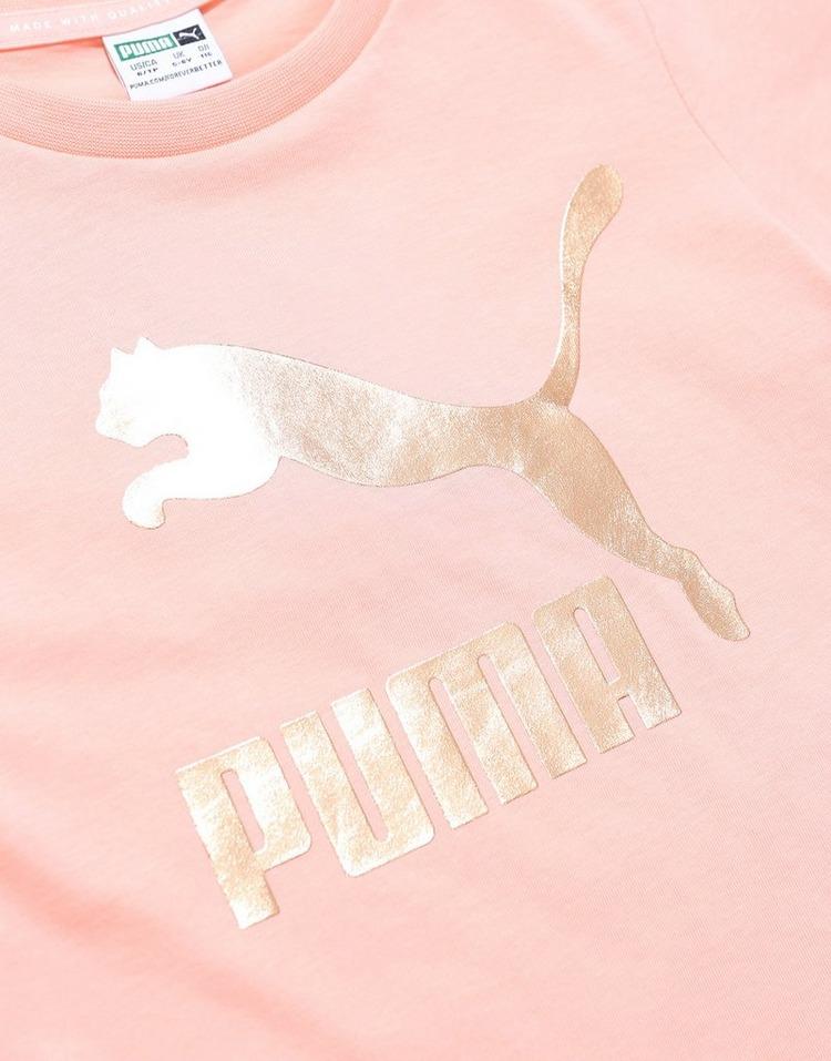 PUMA Girls' Classic Logo T-Shirt Children
