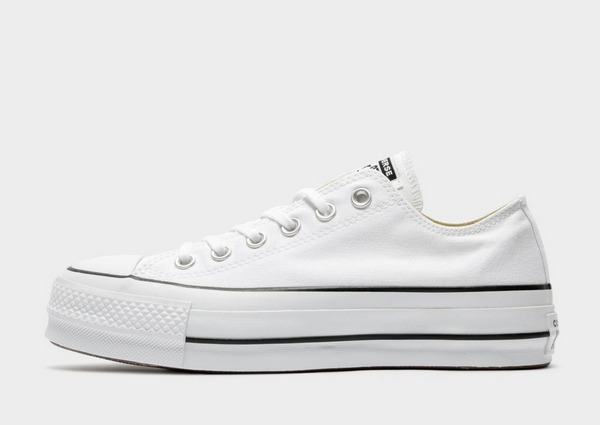 Buy White Converse Chuck Taylor All Star Platform Low Top