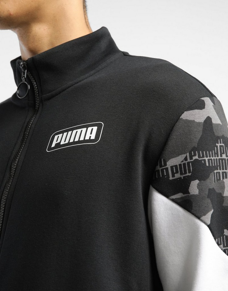 PUMA Rebel Camo Full Zip Track Top