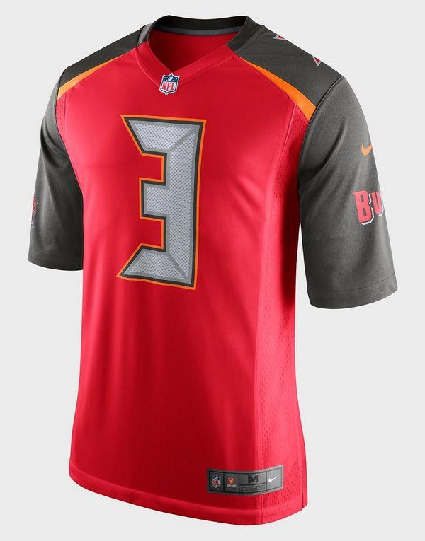wholesale dealer bddd1 b4235 Nike NFL Tampa Bay Buccaneers (Jameis Winston) Men's American Football Home  Game Jersey