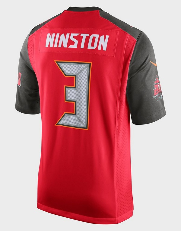 Nike NFL Tampa Bay Buccaneers (Jameis Winston) Men's American Football Home Game Jersey