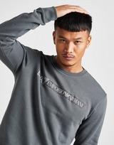 Emporio Armani EA7 7 Lines Reflective Crew Sweatshirt