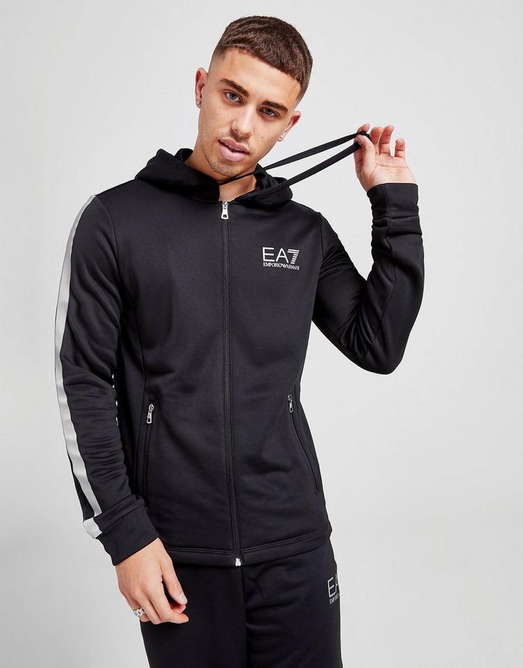 Emporio Armani EA7 เสื้อฮู้ด Evo Reflective Tape Full Zip