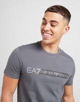 Emporio Armani EA7 เสื้อแขนสั้น 7 Lines Reflective Large Logo