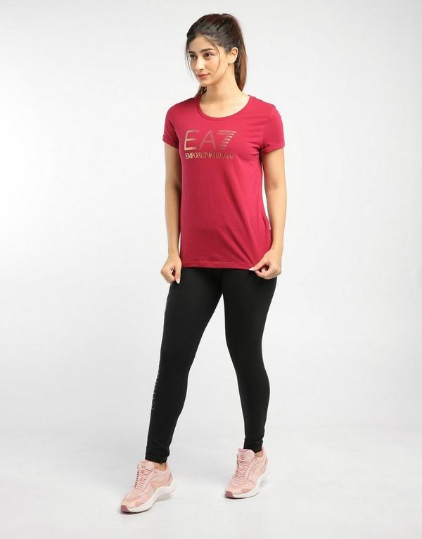 Emporio Armani EA7 Shine Logo Boyfriend T-Shirt