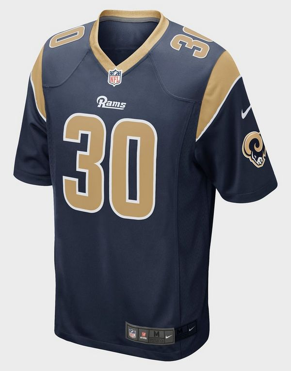outlet store c140d f04d0 Nike NFL Los Angeles Rams Game Jersey (Todd Gurley II) Men's American  Football Jersey