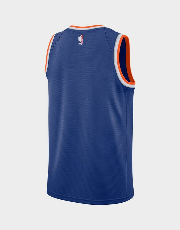 finest selection 7cb21 d438a Nike Icon Edition Swingman (New York Knicks) Men's Nike NBA Connected Jersey