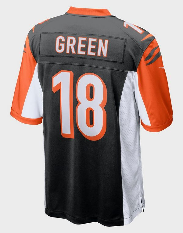 sale retailer 914d2 fb22a Nike NFL Cincinnati Bengals Game (A.J. Green) Men's American Football Jersey