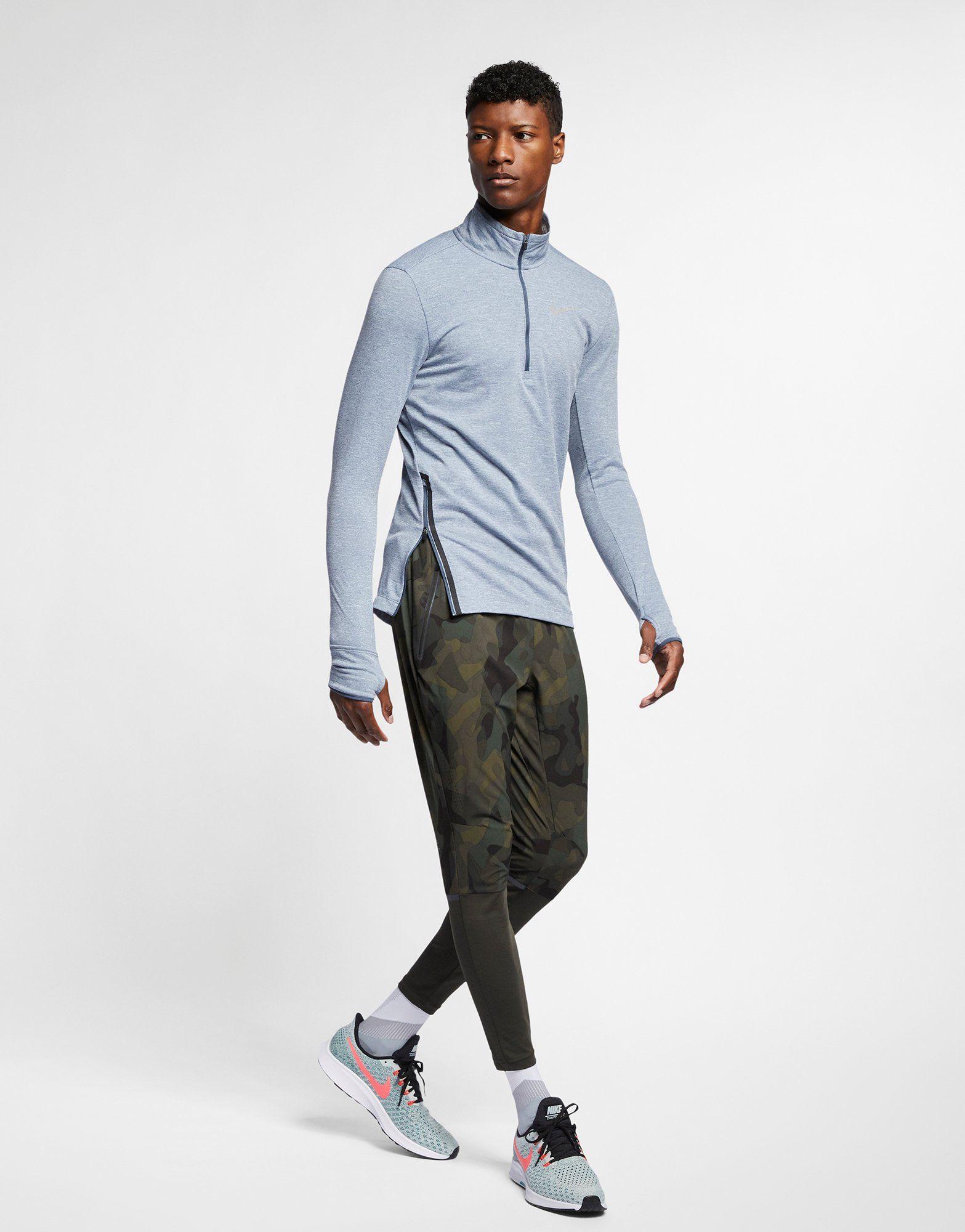 NIKE Nike Therma-Sphere Men's 1/2-Zip Running Top