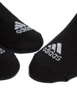 adidas 3 Pack Invisible Socks