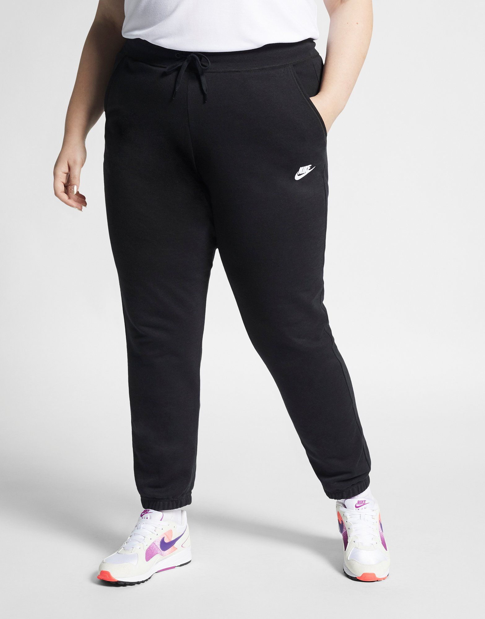 4598347003 NIKE Nike Sportswear Women's Fleece Trousers (Plus Size) | JD Sports