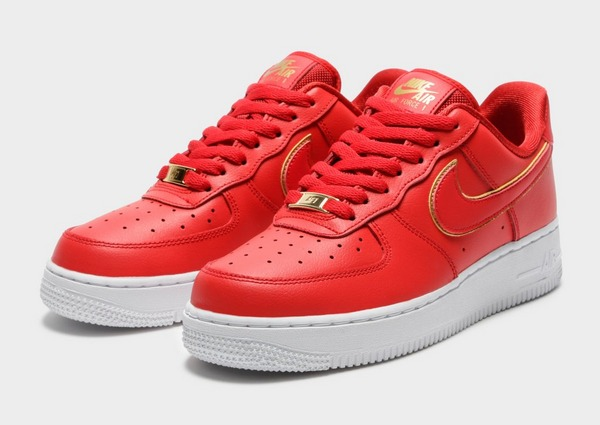 Buy Red Nike Air Force 1 '07 Essential Women's | JD Sports
