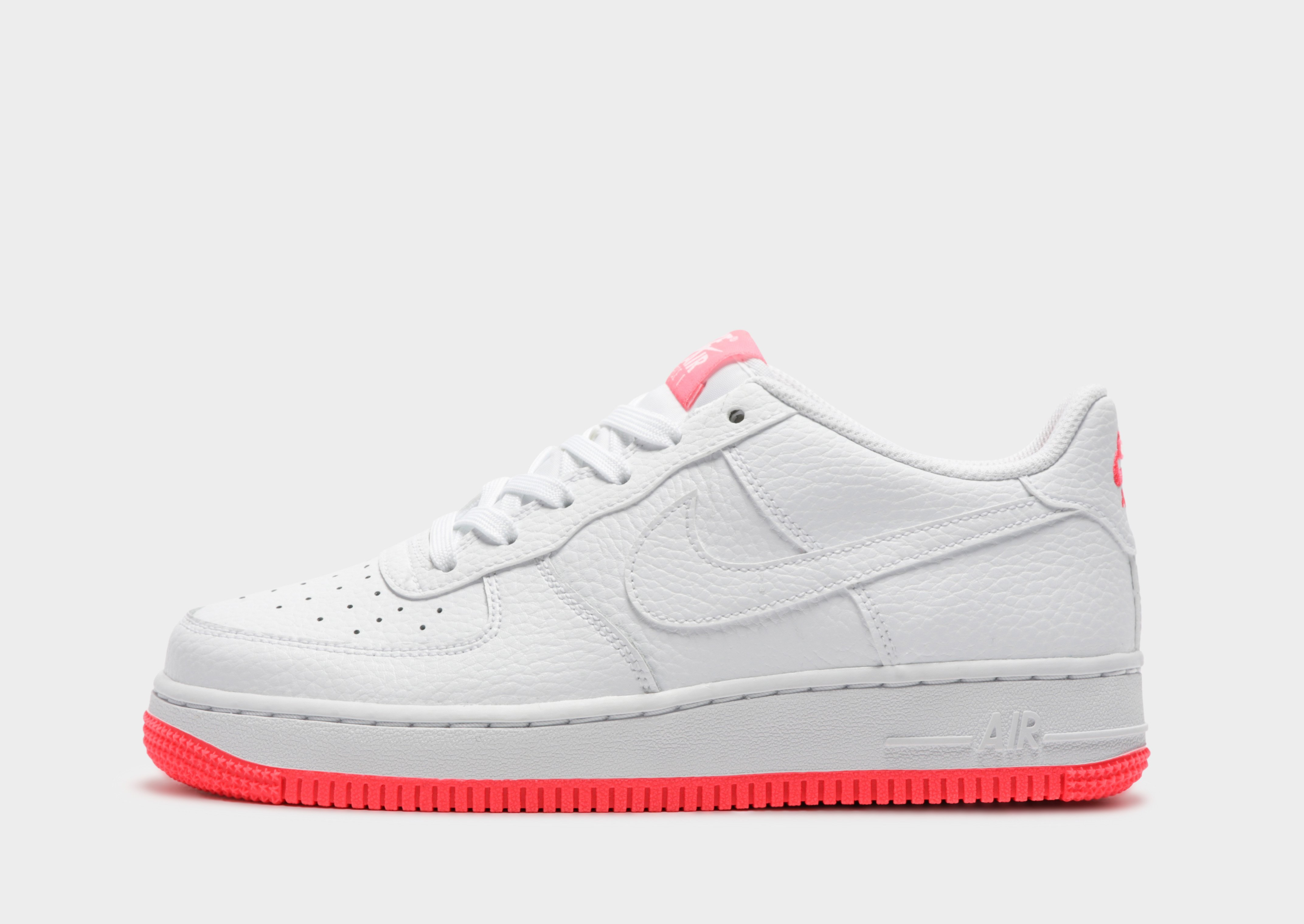 nike air force 1 pink and white