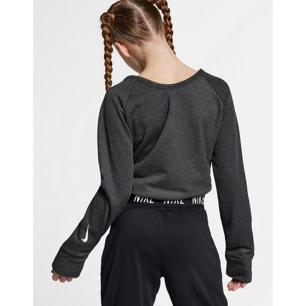 c2d09d80f1d4d ... Training Top  NIKE Nike Older Kids  (Girls ) Long-Sleeve Reversible  Training ...