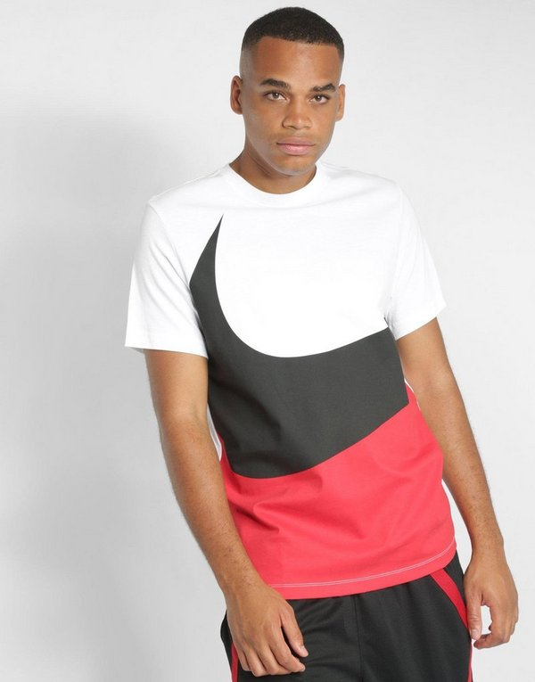 5088da6a Nike Large Swoosh Short Sleeve T-Shirt | JD Sports
