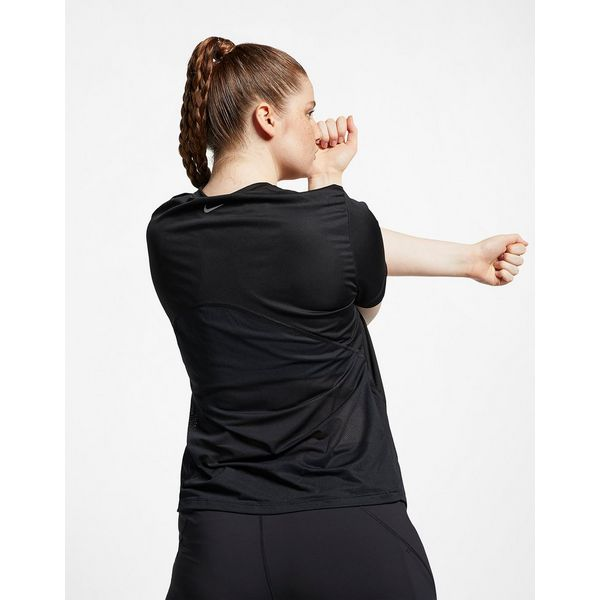NIKE Nike Miler Women's Short-Sleeve Running Top (Plus Size)