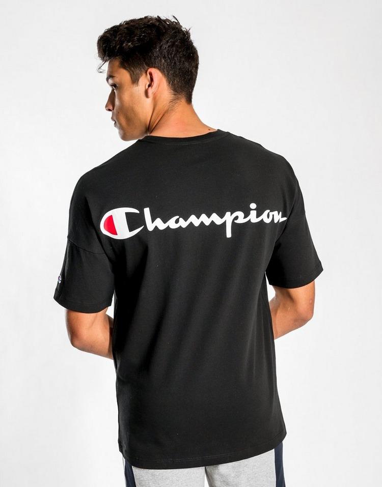 CHAMPION Script Drop Sleeve T-Shirt