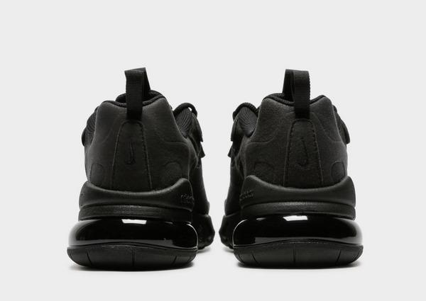 Buy Black Nike Air Max 270 React Junior   JD Sports