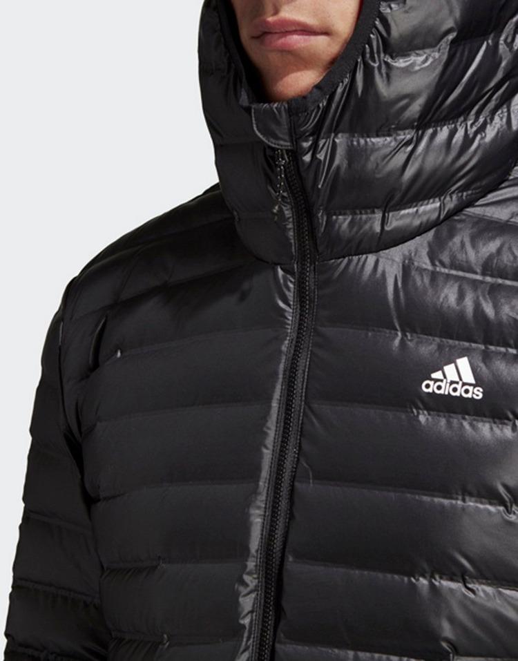 50% rebajado Descubrir más popular Buy Black adidas Performance Varilite Hooded Down Jacket | JD Sports