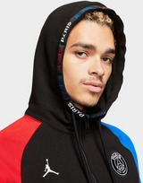 Jordan x Paris Saint Germain Fleece Full Zip Hoodie เสื้อฮู้ดดี้ผู้ชาย