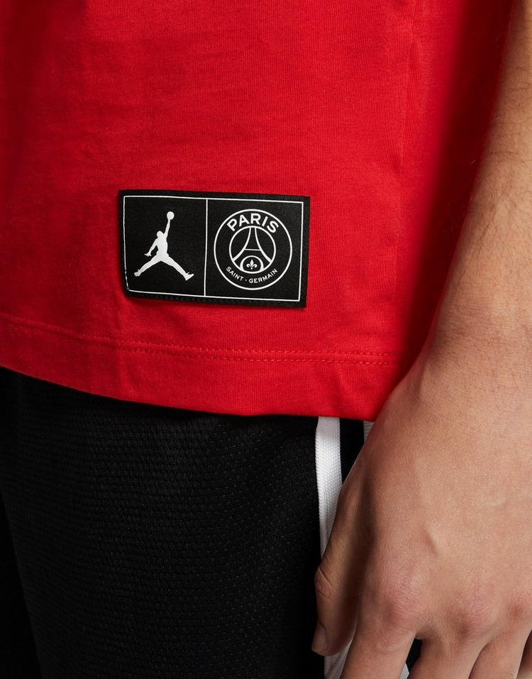 Jordan x Paris Saint Germain Wordmark T-Shirt เสื้อยืดผู้ชาย