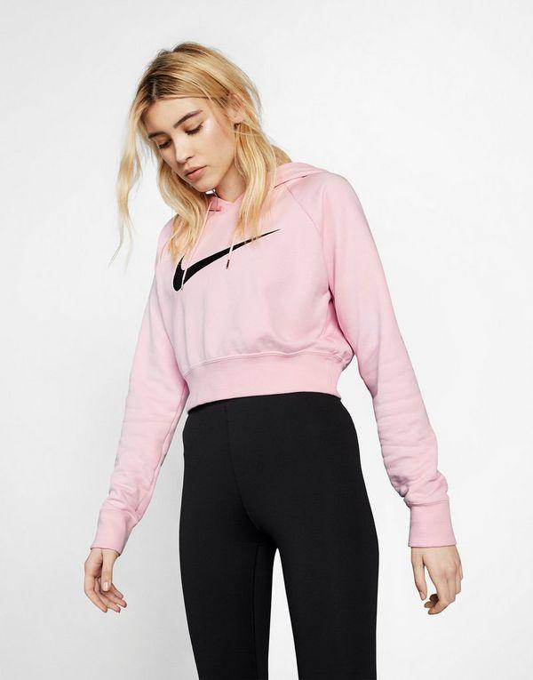 df43569e7465 NIKE Nike Sportswear Swoosh Women s Cropped French Terry Hoodie