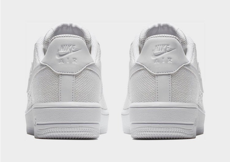 Buy White Nike Air Force 1 Flyknit 2.0 Junior JD Sports  JD Sports