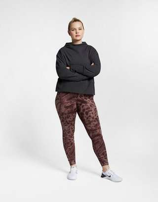 NIKE Nike Studio Women's Pullover Training Top (Plus Size)