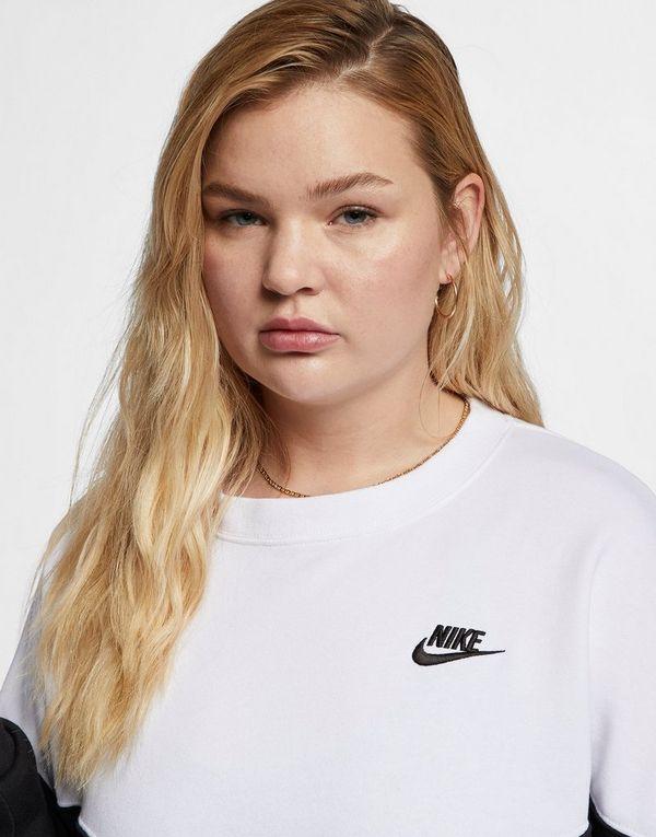 b4158730 NIKE Nike Sportswear Heritage Women's Fleece Crew (Plus Size) | JD ...