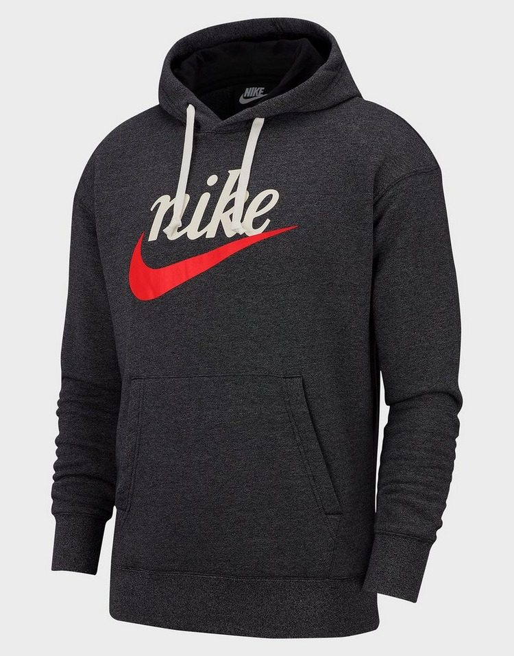 Sportswear Heritage Men's Graphic Pullover Hoodie in Black
