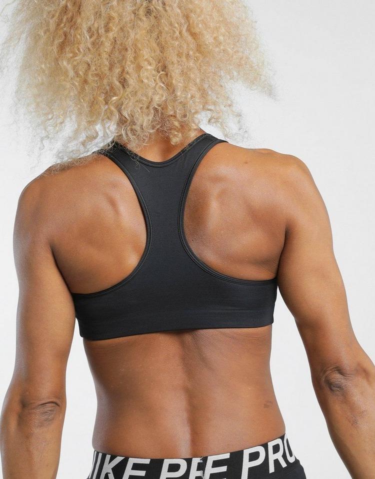 Nike เสื้อบรา MED PAD BRA BLACK