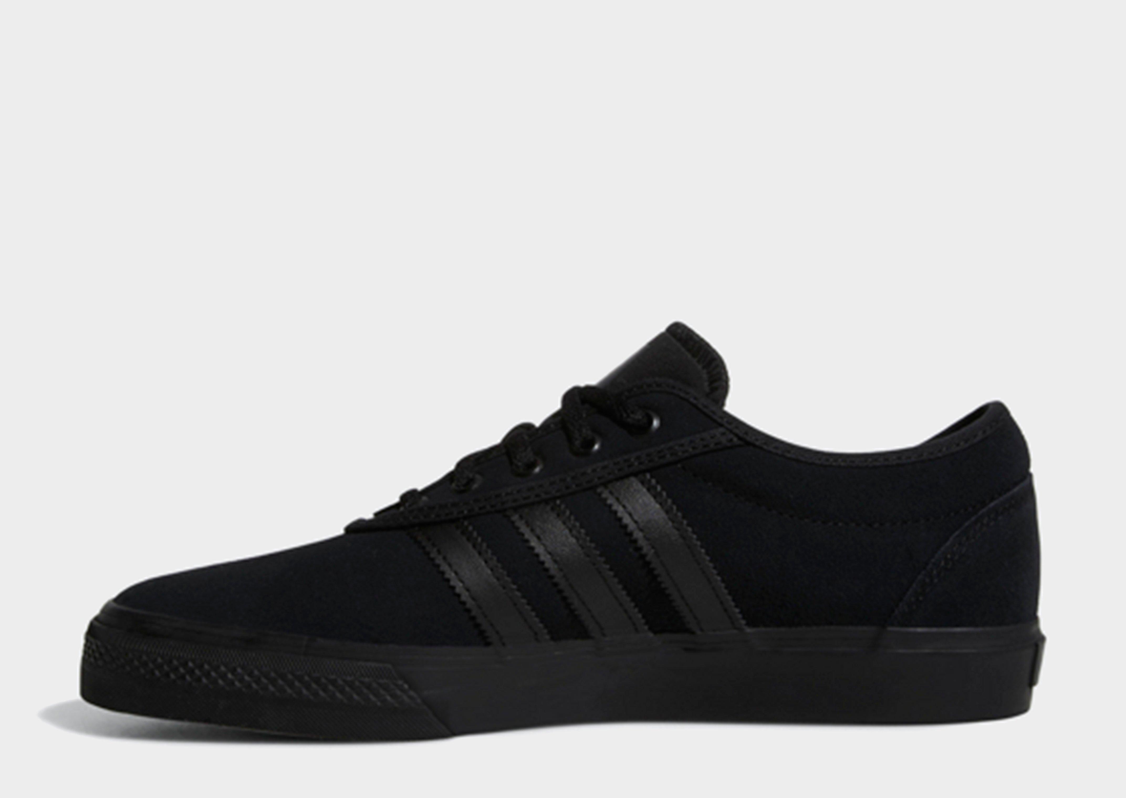 adidas superstar skate black