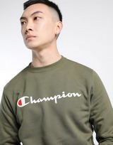 CHAMPION Classic Logo Crew Sweatshirt