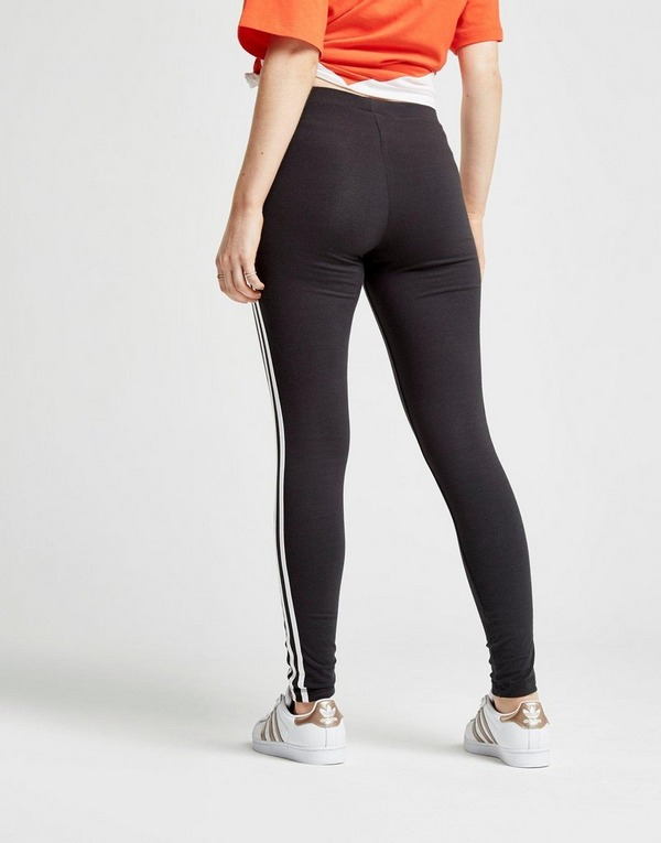 entire collection lowest price great fit Buy Black adidas Originals 3-Stripes Leggings Womens   JD Sports