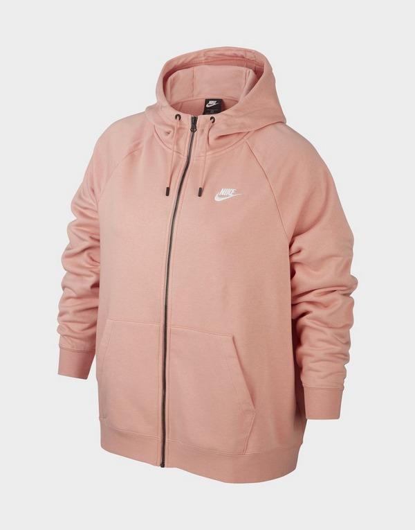 Nike Nike Sportswear Essential (Plus Size) Women's Full-Zip Hoodie