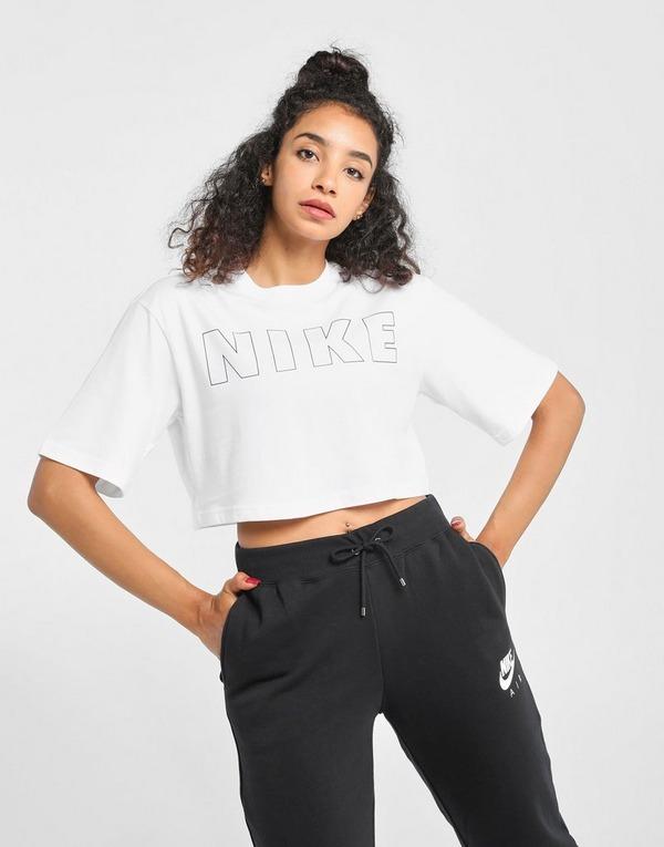 Nike เสื้อครอปผู้หญิง Air Swoosh