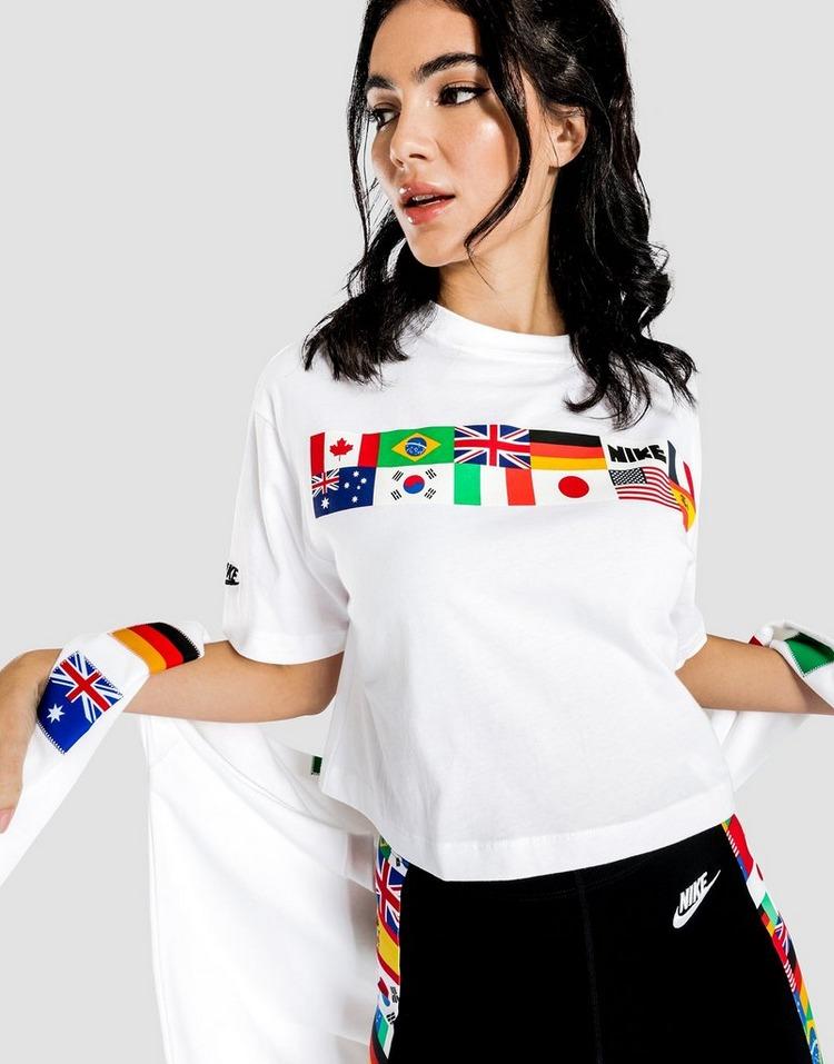 Nike Flag Crop T-Shirt