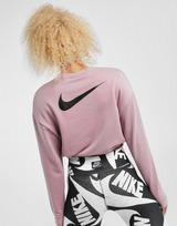 Nike เสื้อแขนยาว Swoosh crop