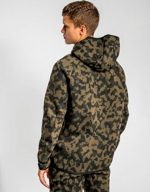 Nike Camo Fleece Hoodie Junior Khaki Kids | Compare