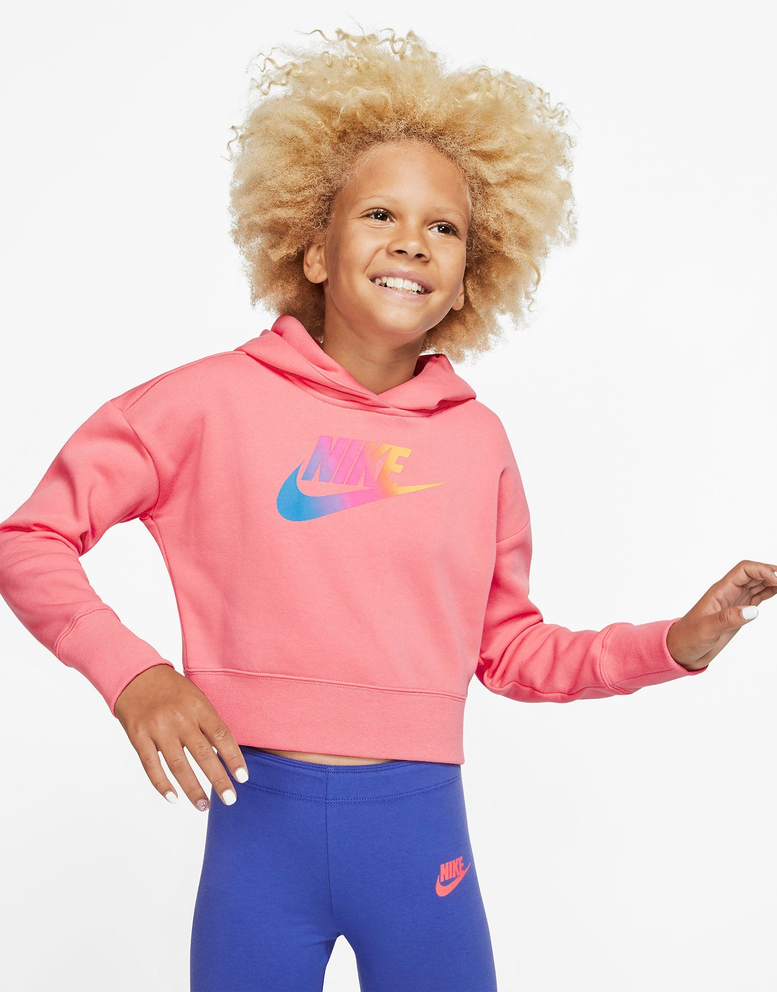 a637a31f1 Nike Nike Sportswear Older Kids' (Girls') Cropped Hoodie | JD Sports