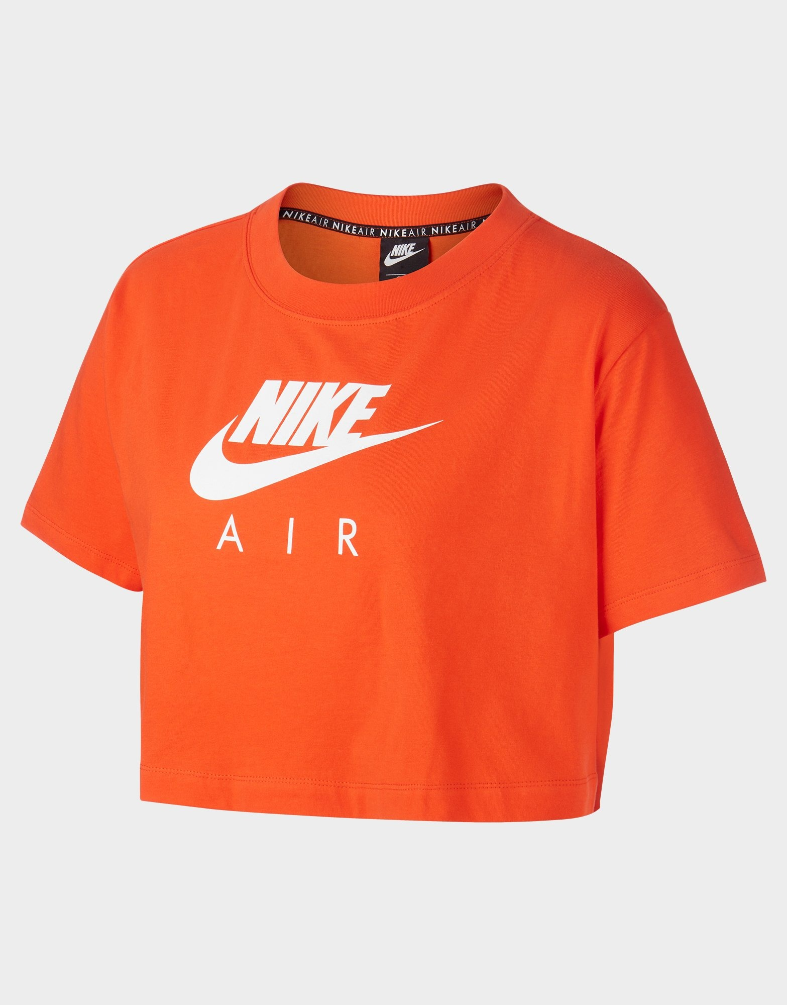 womens nike sweatshirt orange