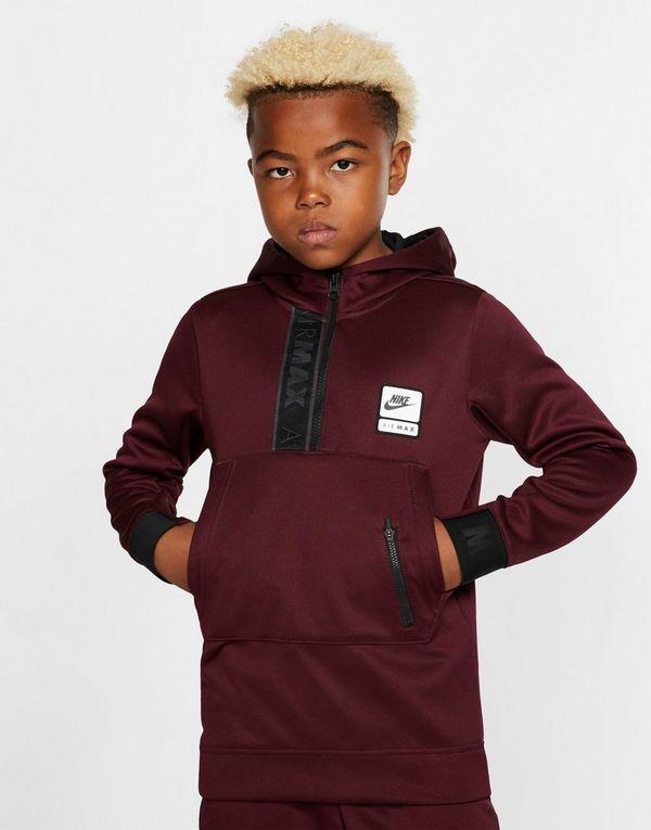 04854243 Nike Nike Air Max Older Kids' Half-Zip Hoodie   JD Sports