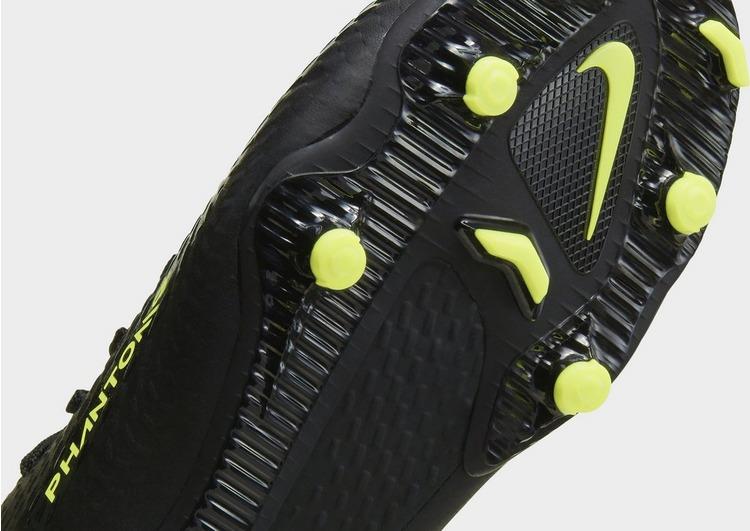 Nike Black/Chile Red Phantom GT Academy FG Junior